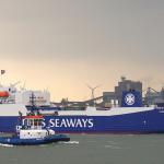 Promy do Anglii: Nowy rekord na trasie promowej Rotterdam-Felixstowe