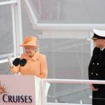 Britannia płynie w pierwszy rejs