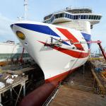 Promy do Anglii: P&O nabyło największa jednostkę we flocie