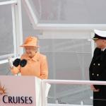 Królowa brytyjska została matką chrzestną statku P&O