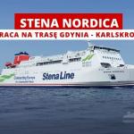 Stena Nordica wraca na linię promową Stena Line między Gdynią a Karlskroną