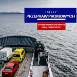 Zalety przepraw promowych cargo względem innych form transportu