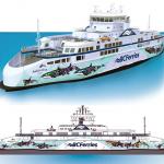 BC Ferries ujawnia projekt grafiki dla pierwszego z promów