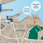 Prom Tallinn - Helsinki: Zmiana miejsca cargo check-in w Tallinnie [MAPA]