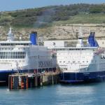 Calais Seaways z wymienionymi silnikami