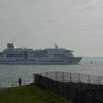 Awaryjne cumowanie promu Brittany Ferries