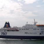 Kolejny, piąty prom P&O Ferries na trasie Calais-Dover