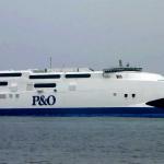 Promy do Anglii: P&O rezygnuje z szybkobieżnego promu na Morzu Irlandzkim