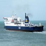 Szósty prom P&O Ferries na trasie Dover-Calais
