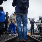 Działanie kolei towarowej do Calais zawieszone z powodu wtargnięć imigrantów