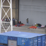 Zaostrzająca się sytuacja w Calais. Możliwa blokada portu.