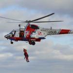 Akcja ratownicza śmigłowca Anakonda na Bałtyku