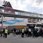 Nielegalni imigranci na promach do Szwecji