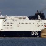 Promy do Anglii: DFDS przewiózł milionowy ładunek cargo