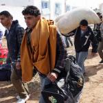 Kolejna fala migrantów zatrzymanych na kanale La Manche