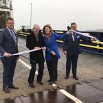 P&O Ferries otworzyło swój rozbudowany hub w Zeebrugge