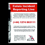 Calais- Dover: numer alarmowy/P&O przypomina o CMR