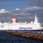Statek do instalacji wiatrowych uderzył w prom Stena Nautica
