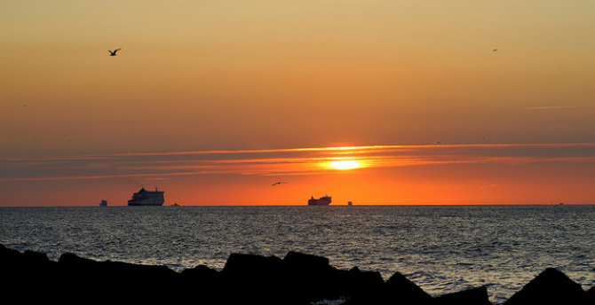 Patria Seaways na trasie Zeebrugge - Hull