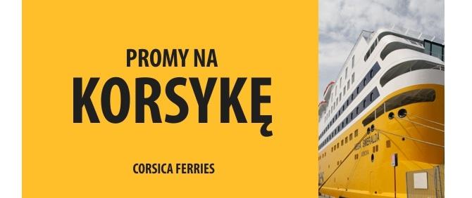 Wybierz promy cargo na Korsykę w PROMY24.COM