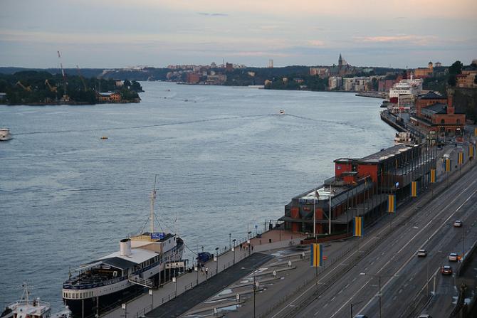 Port w Sztokholmie utrzymuje dobrą kondycję