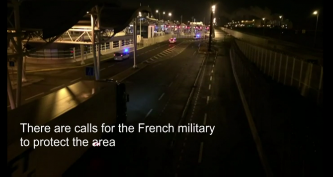 Calais: w sobotę imigranci zaatakowali prom Spirit of Britain