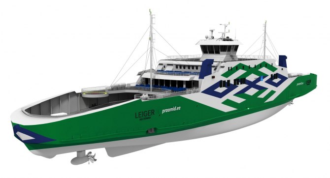 Port w Tallinie prezentuje zdjęcia nowych promów