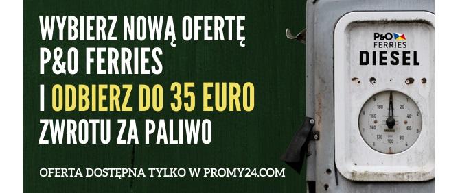 Wybierasz nową ofertę P&O Ferries i PROMY24.COM - zyskujesz potrójnie!