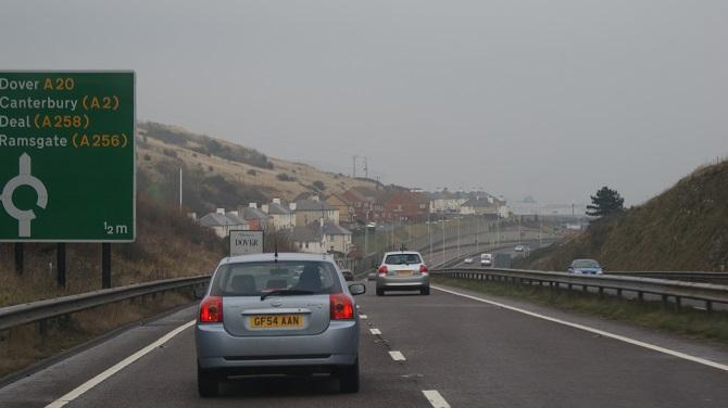 Promy do Anglii: Uwaga! Utrudnienia na drodze A20, w okolicach Dover