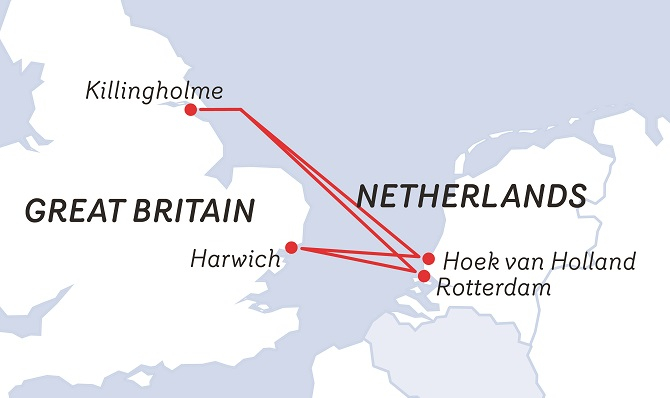 Promy do Anglii: Stena Line zwiększa możliwości przewozowe na M. Północnym