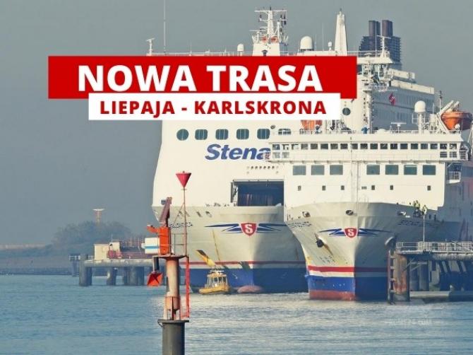 Stena Line wprowadza dodatkowy port na trasie Liepaja - Travemunde.