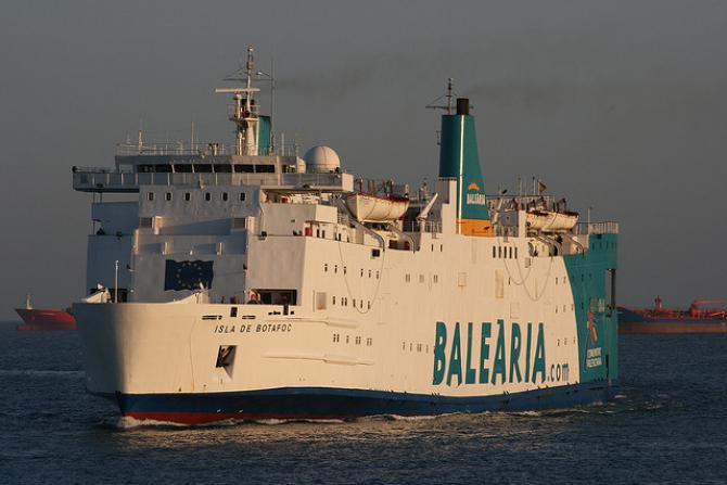 Promy do Hiszpanii: Silnik Rolls- Royce dla Balearii