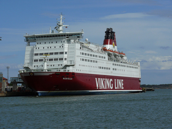 Promy do Szwecji: Viking Line remontuje prom Mariella