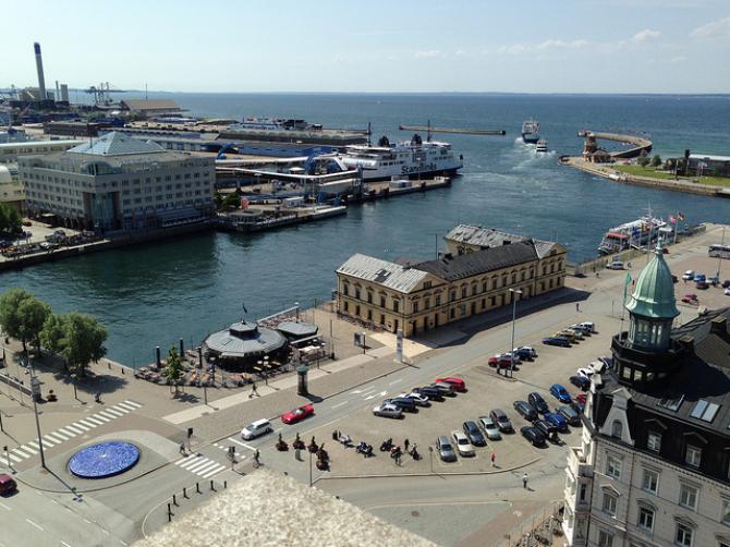 Promy do Szwecji: Port Helsingborg zmniejsza koszty w 2014