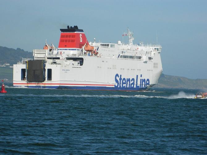 Stena Nordica wyczarterowana przez GNV