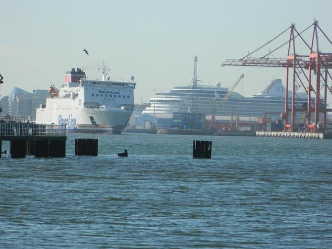 Stena Nordica przygotowuje się do obsługi Kanału La Manche