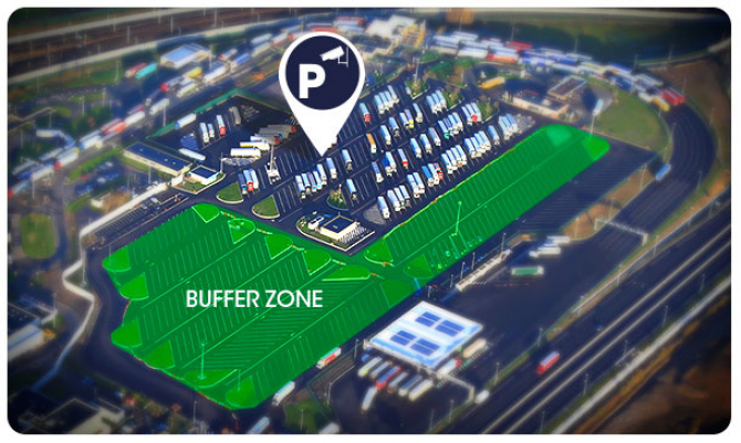 Eurotunnel: Zakaz parkowania w obszarze strefy buforowej