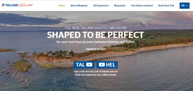 Śledź na stronie postępy w budowie nowego promu Tallink