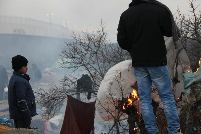 Czy dzieci uchodźców z obozu w Calais dołączą do swoich rodzin w Wlk. Brytanii?