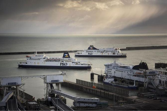 Prom do Anglii: Calais - Dover