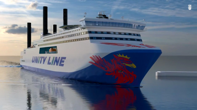 Cztery nowe promy hybrydowe Unity Line już wkrótce na trasie Świnoujście - Ystad