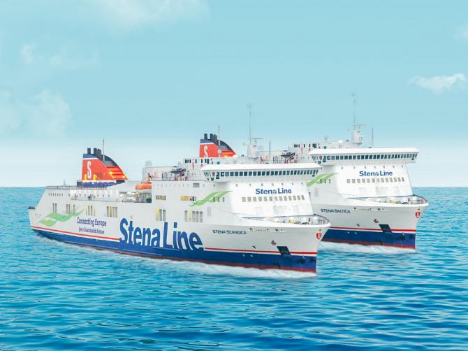 Stena Line ogłasza nowe nazwy statków na linii Nynäshamn - Ventspils