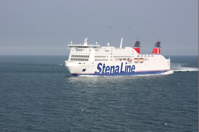 Stena Line reguluje rozkład między Dublinem a Holyhead