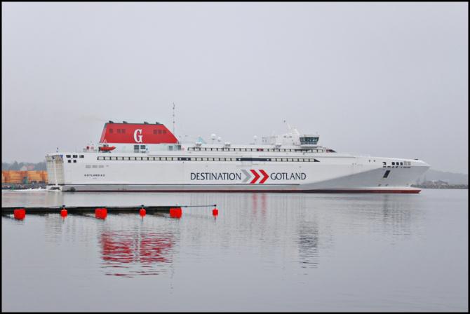 A przewozy na Gotlandię wędrują do …