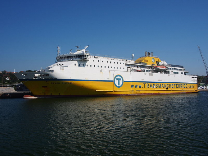 Debiut SEVEN SISTERS na trasie Le Havre – Portsmouth