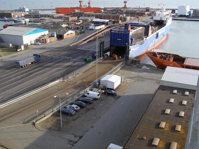 Weteran Stena Scanrail opuszcza trasę Göteborg–Frederikshavn
