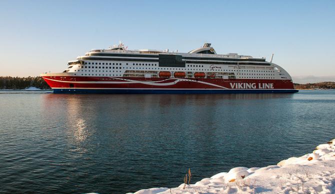 Viking Grace przewiózł cztery miliony gości w ciągu trzech lat