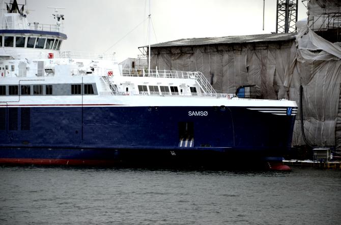 Duńczycy skontrolowali nowy prom Samsø
