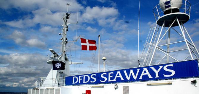 DFDS Seaways pobił rekord przewozowy na kanale La Manche