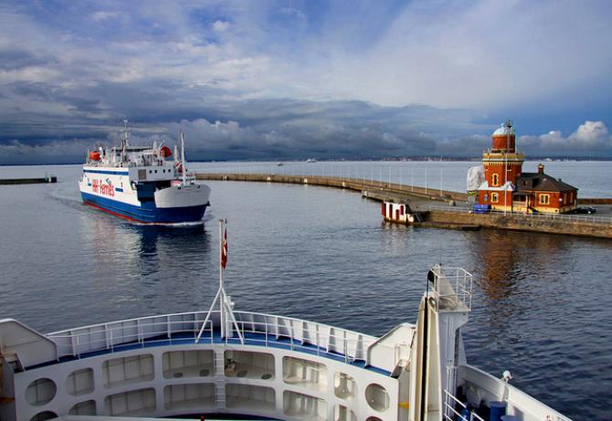 Problemy z migrantami na trasie Helsinborg-Helsingör